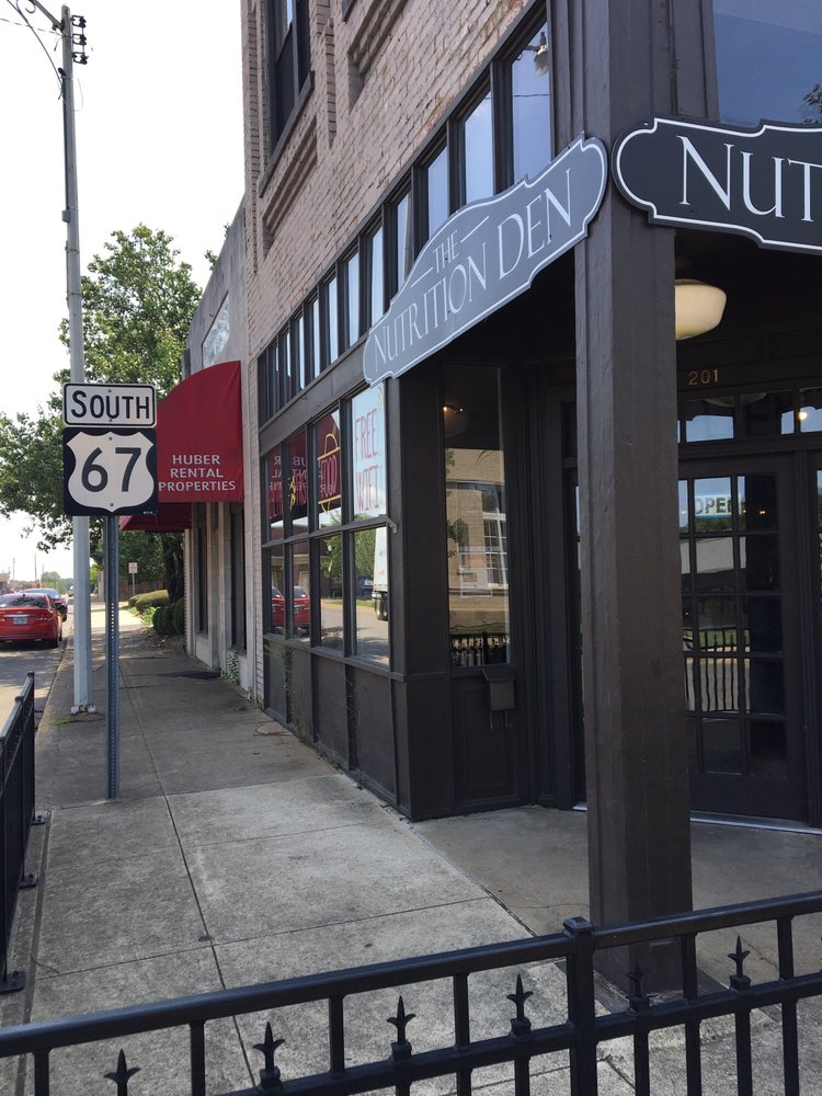 The Nutrition Den: 201 S 6th St, Arkadelphia, AR