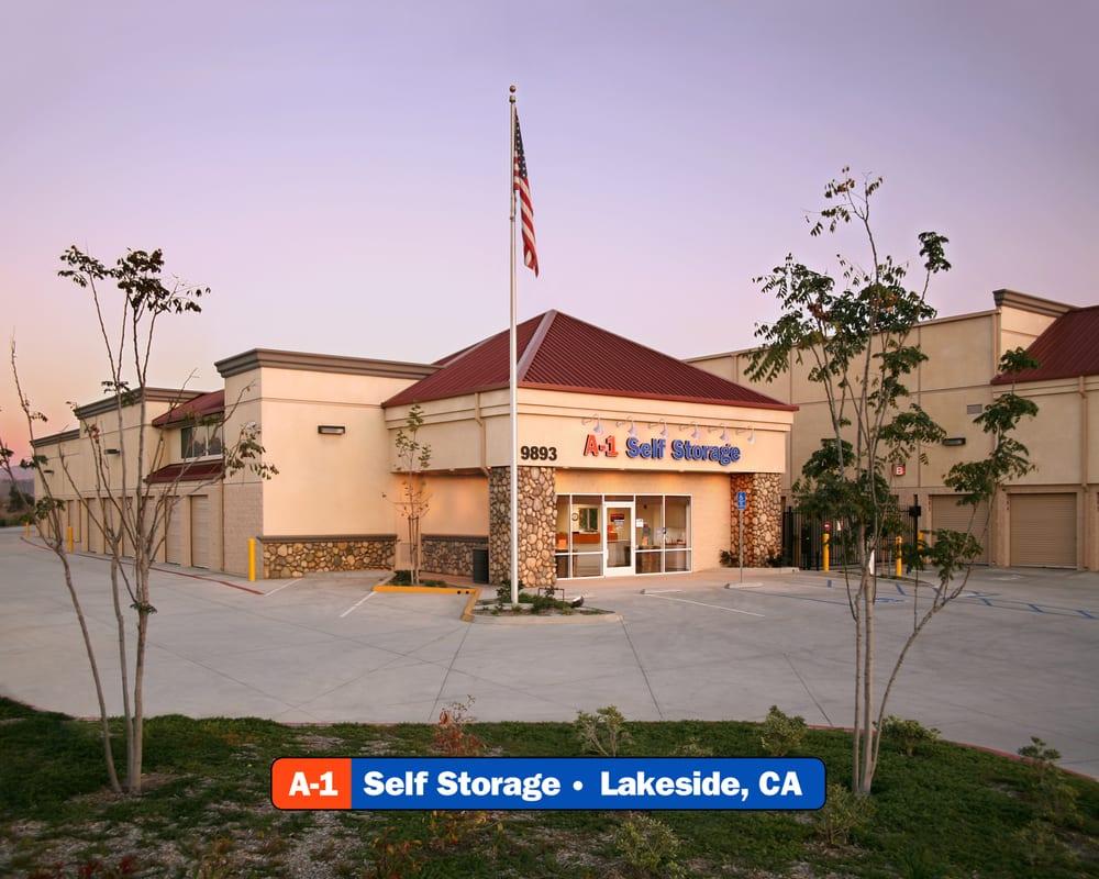 A-1 Self Storage: 9893 Riverford Rd, Lakeside, CA