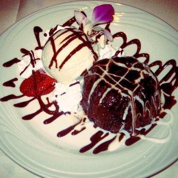 Fogo De Chao Molten Chocolate Cake