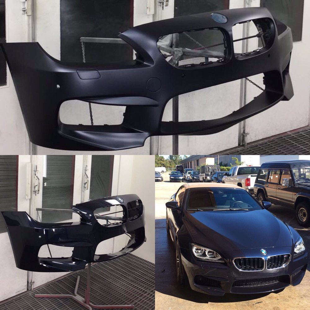 Brand New Bmw M6 In For Front Bumper Repair Yelp