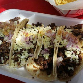 photo of backyard taco mesa az united states carne tacos