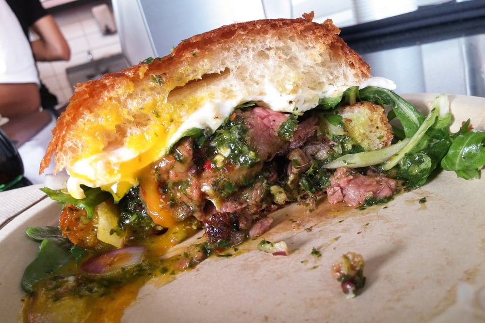 Gaucho Sandwich with perfected Wagyu Tri Tip! - Yelp