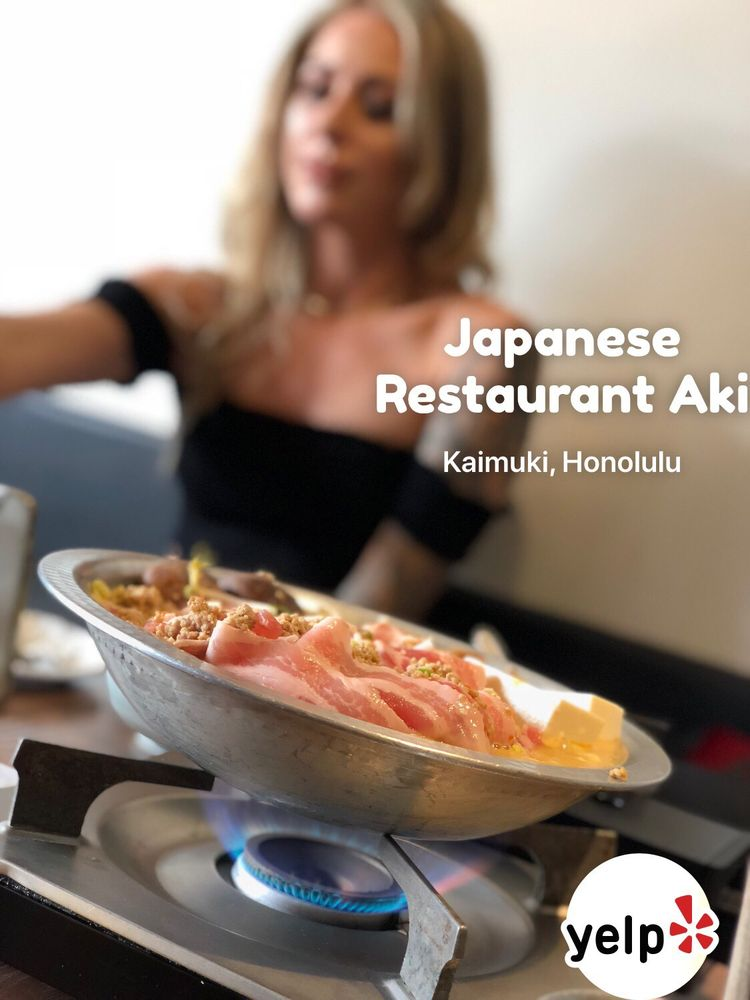 Great food and service thanks yelp for Aki japanese cuisine