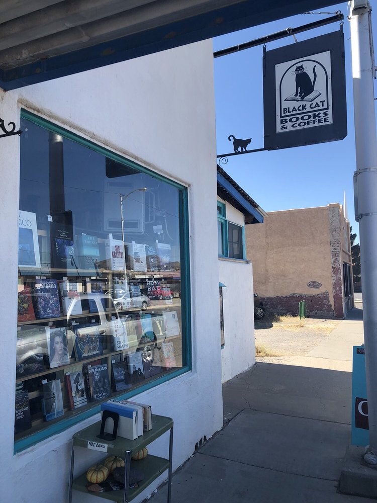 Black Cat Books & Coffee: 128 N Broadway, Truth or Consequences, NM