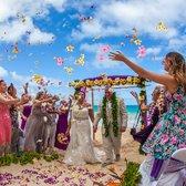 Photo Of Aloha Island Weddings Honolulu Hi United States Beautiful Flower Aisle
