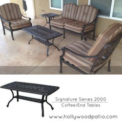 Photo Of Hollywood Patio   Northridge, CA, United States. Coffee And End  Tables