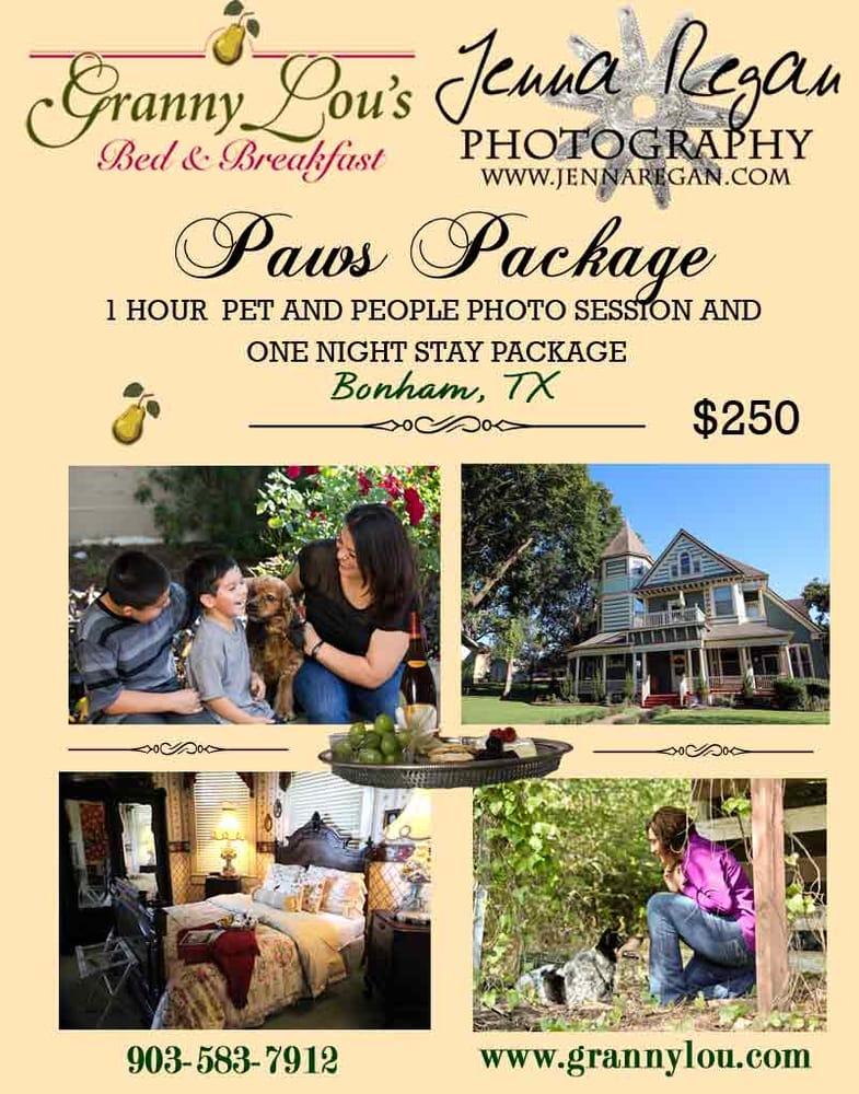Granny Lou's Bed & Breakfast: 317 W Sam Rayburn Dr, Bonham, TX