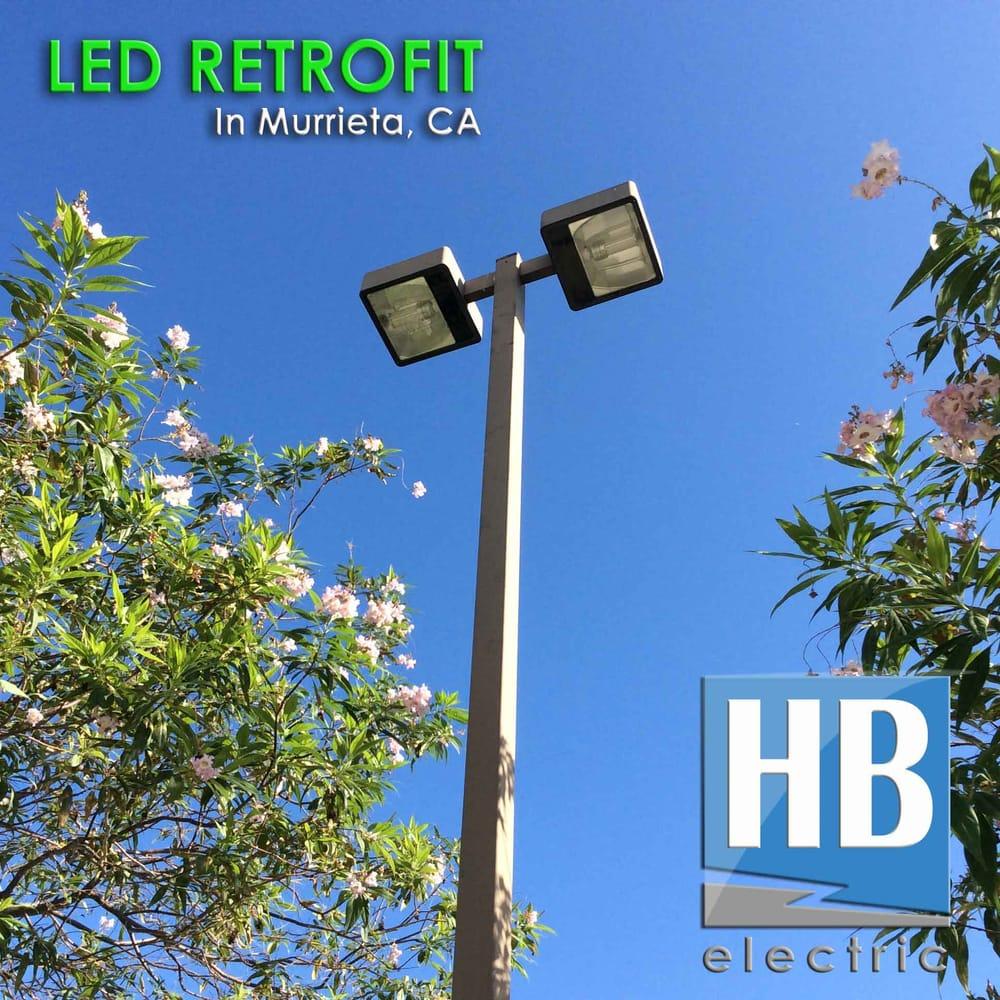 Commercial Led Lighting Near Me: LED Retrofit For Parking Lot Light Poles At Commercial