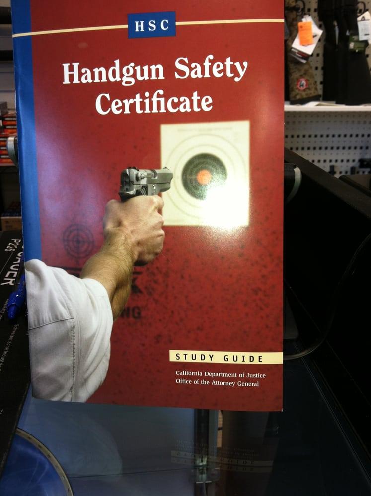 We Are A Handgun Safety Certificate Retailer Yelp