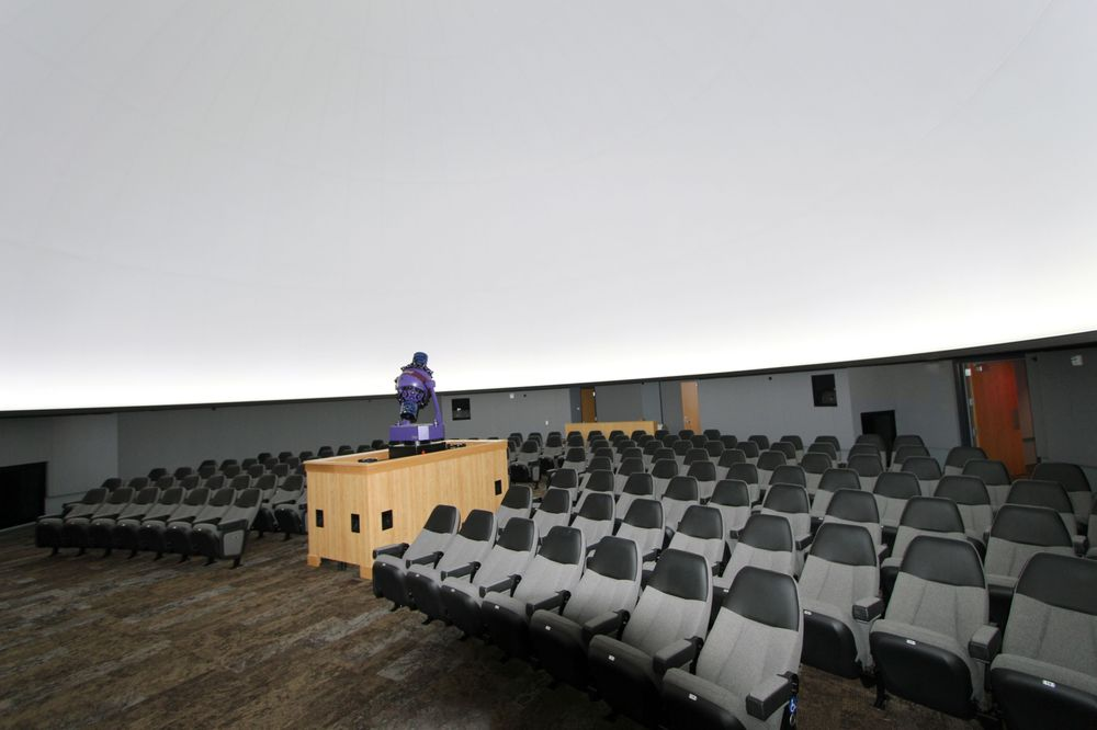 Charles W Brown Planetarium: 2000 W Riverside Ave, Muncie, IN