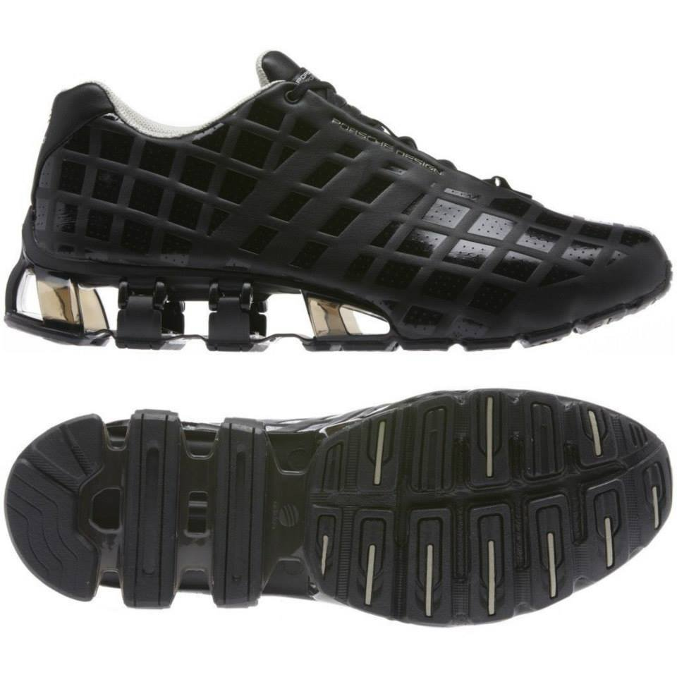 quality design 7a368 1eca6 $550 PORSCHE DESIGN BOUNCE S3 BLACK LEATHER RUNNING SHOES - Yelp
