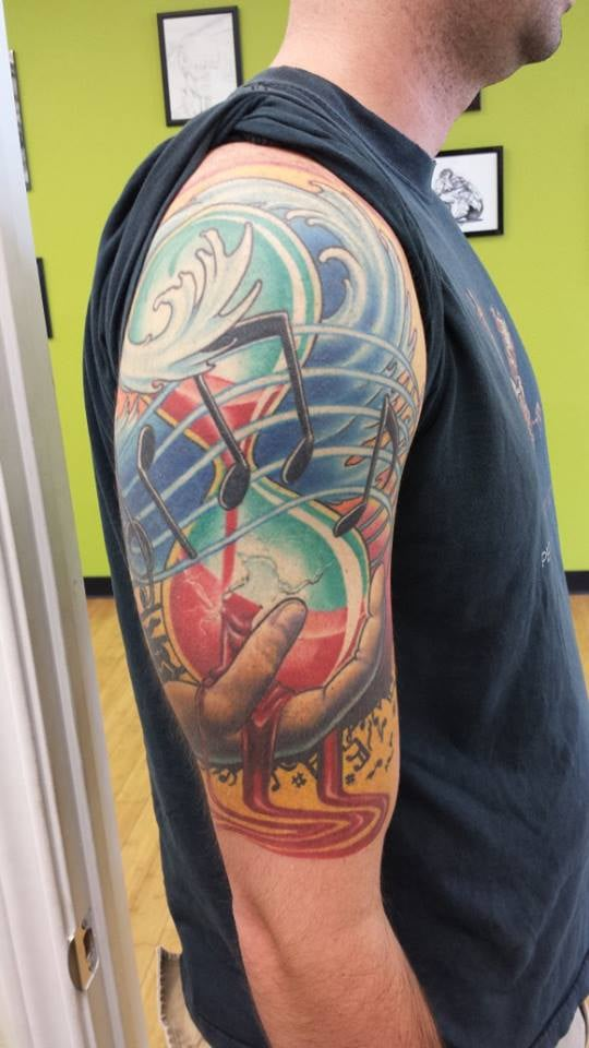 Music Themed Sleeve By Shaine Smith Yelp