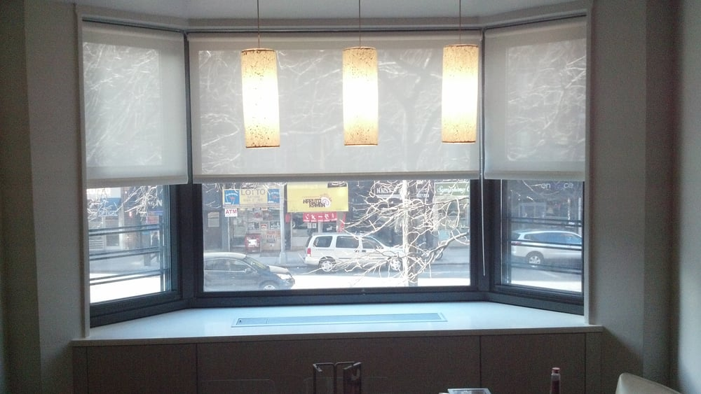 Solar Shades Nyc Bay Windows Roller Shades New York City