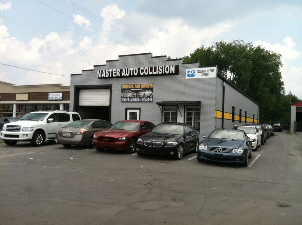 Master Auto Collision Service Body S 3407 South Blvd Charlotte Nc Phone Number Yelp