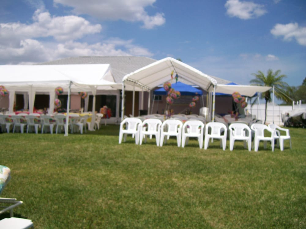 Photo of Party Time Equipment Tents Tables and Chairs - Palm Bay FL United : 10x30 wedding tent - memphite.com