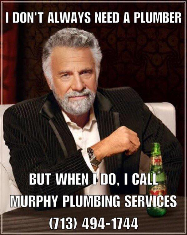 o murphy plumbing services 10 reviews plumbing cypress, tx