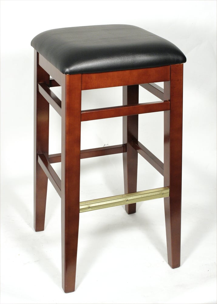 Wooden bar stool item h yelp