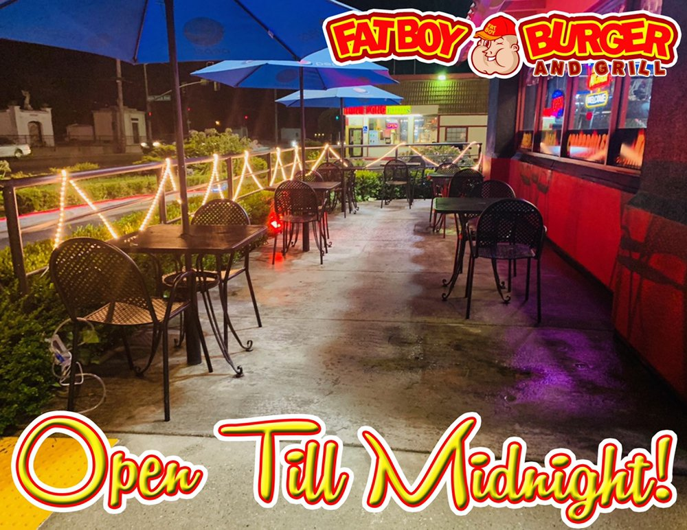 Fat Boy Burgers and Grill: 1467 Freedom Blvd, Watsonville, CA