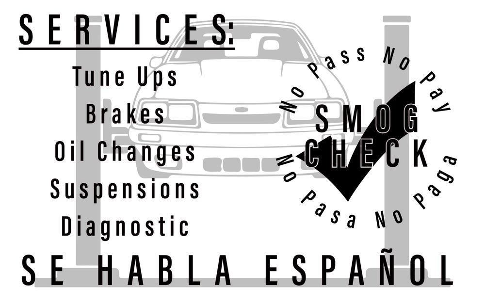 Clean Care Smog & Auto Repair: 10865 Merritt St, Castroville, CA