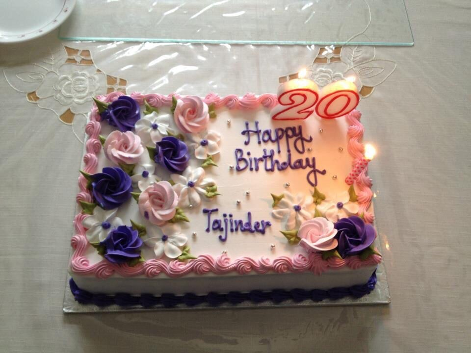 20th Birthday Cake Taste Was Amazing Yelp