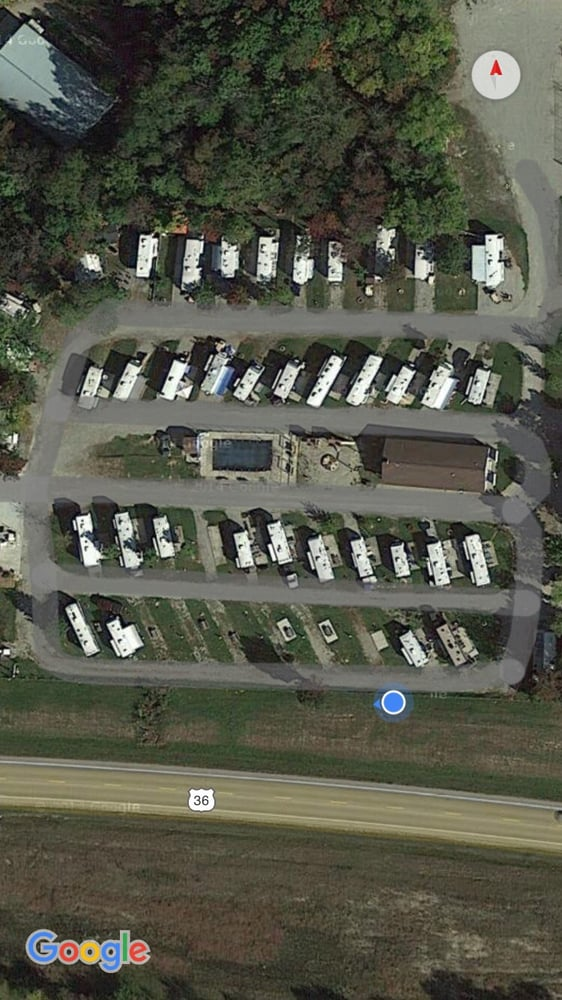 Lazy R Campground: 8714 US Route 36, Bradford, OH