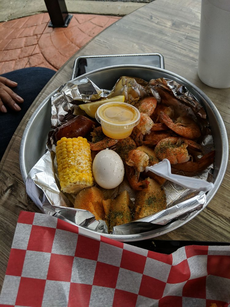 Food from Clayton's Shrimp Shack