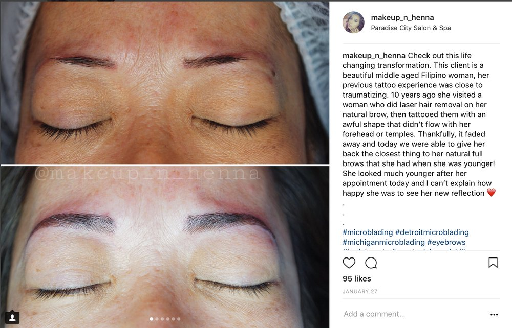 For More Microblading Work Check Out Our Instagram Shayalsaid Yelp