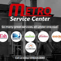 Metro Service Center >> Metro Service Center Television Service Providers 103 W 10th St
