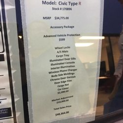Photo Of Brannon Honda   Birmingham, AL, United States. The Window Sticker  That