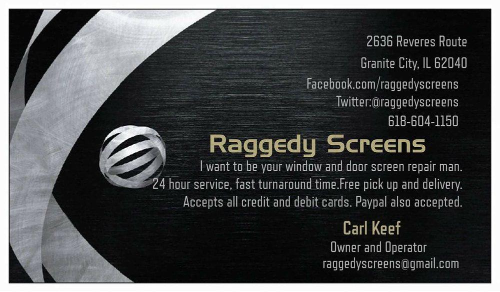Raggedy Screens: 2636 Reveres Rte, Granite City, IL