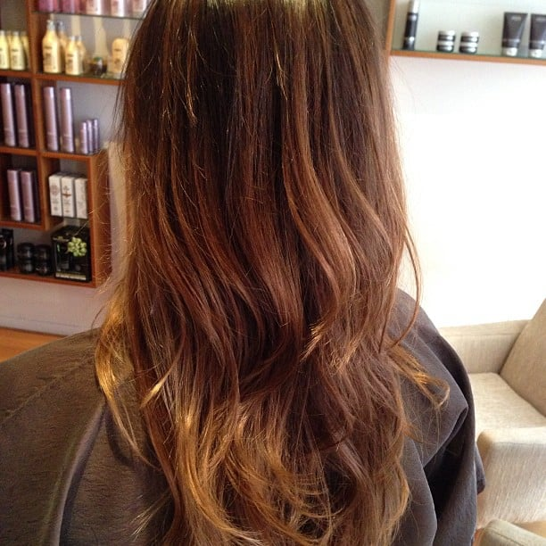 Balayage Highlights/ombré Creating A Sun-kissed Look