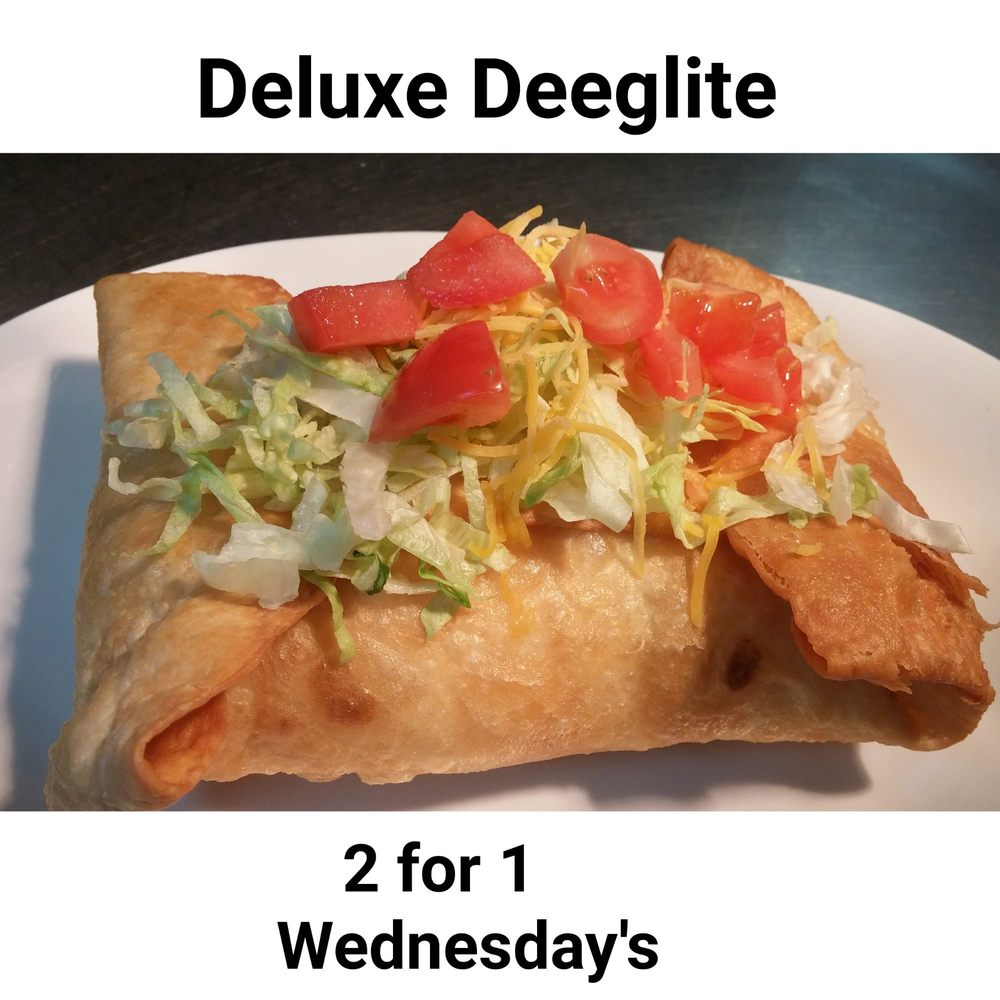 Food from Deeg's Grill & Bar
