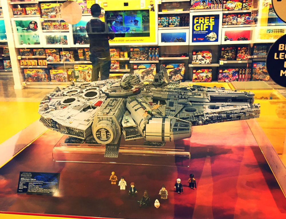 Get ready for the largest Lego set ever. It's the huge Millennium ...