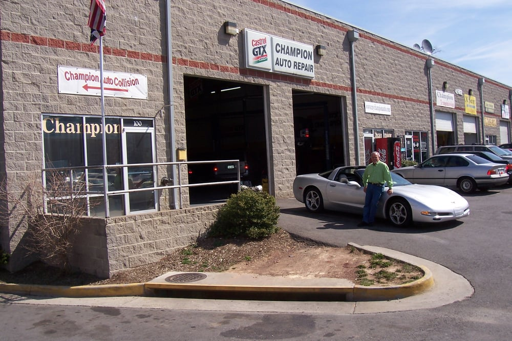 Champion Auto Repair: 45922 Old Ox Rd, Sterling, VA
