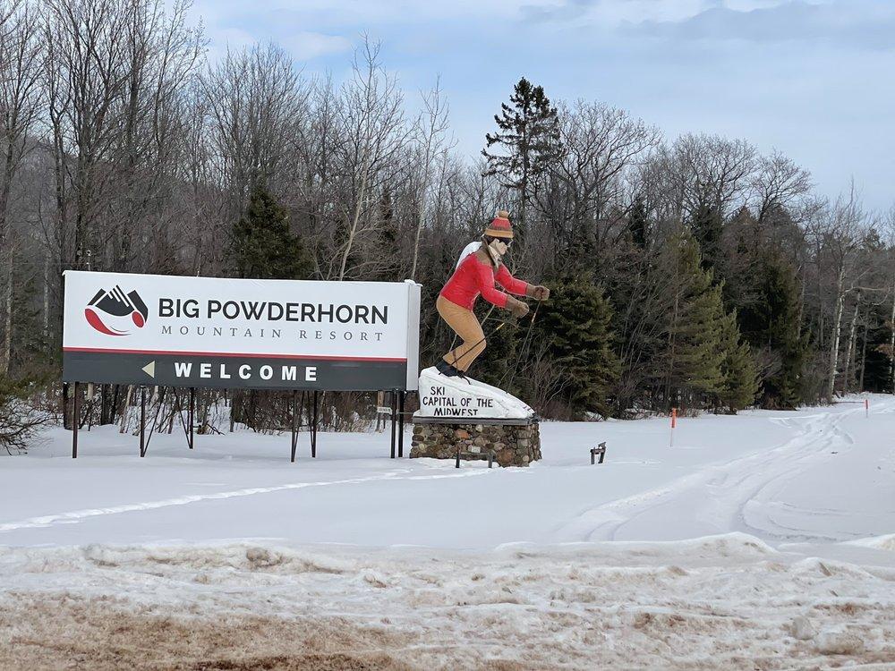 Powderhorn Mountain Ski Resort: N11360 Powderhorn Rd, Bessemer, MI