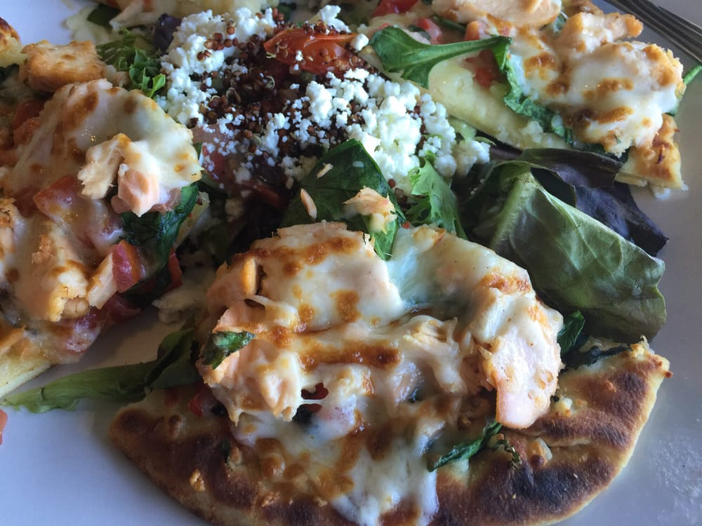 Quinoa salad with salmon flatbread yelp for Anthony s fish grotto san diego