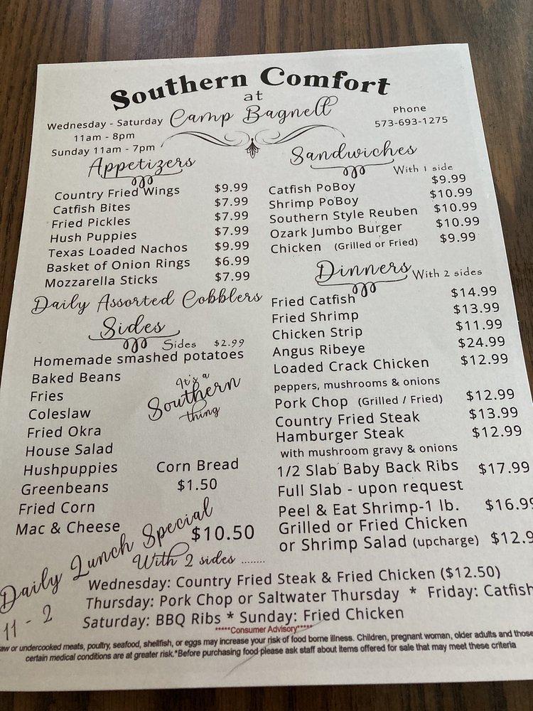 Camp Bagnell Fish & Steak: 401 Old Bagnell Rd, Eldon, MO