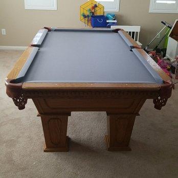 On Cue Billiards Photos Reviews Pool Billiards - Grady pool table