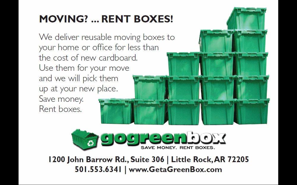 Go Green Box: 6415 Witt Ln, North Little Rock, AR