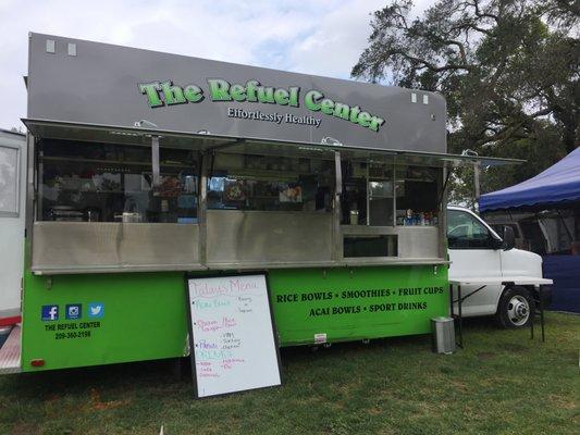 The Refuel Center 3601 Litt Rd Modesto Ca Hamburger Hot Dog