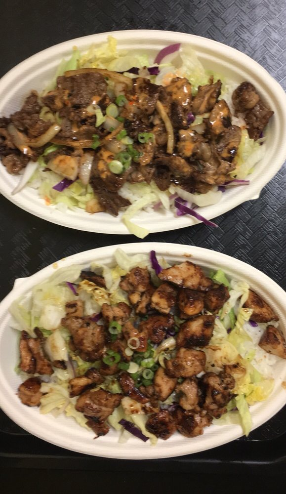 Food from Kogi Grill