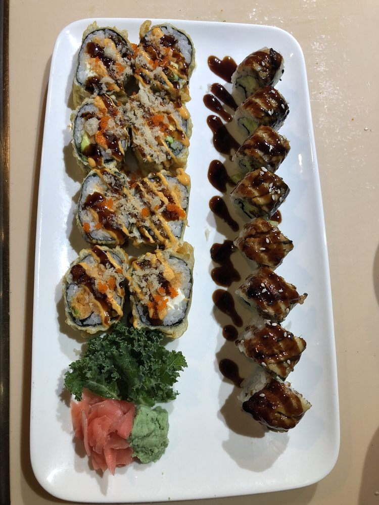 Food from Yamato Japanese Resturant