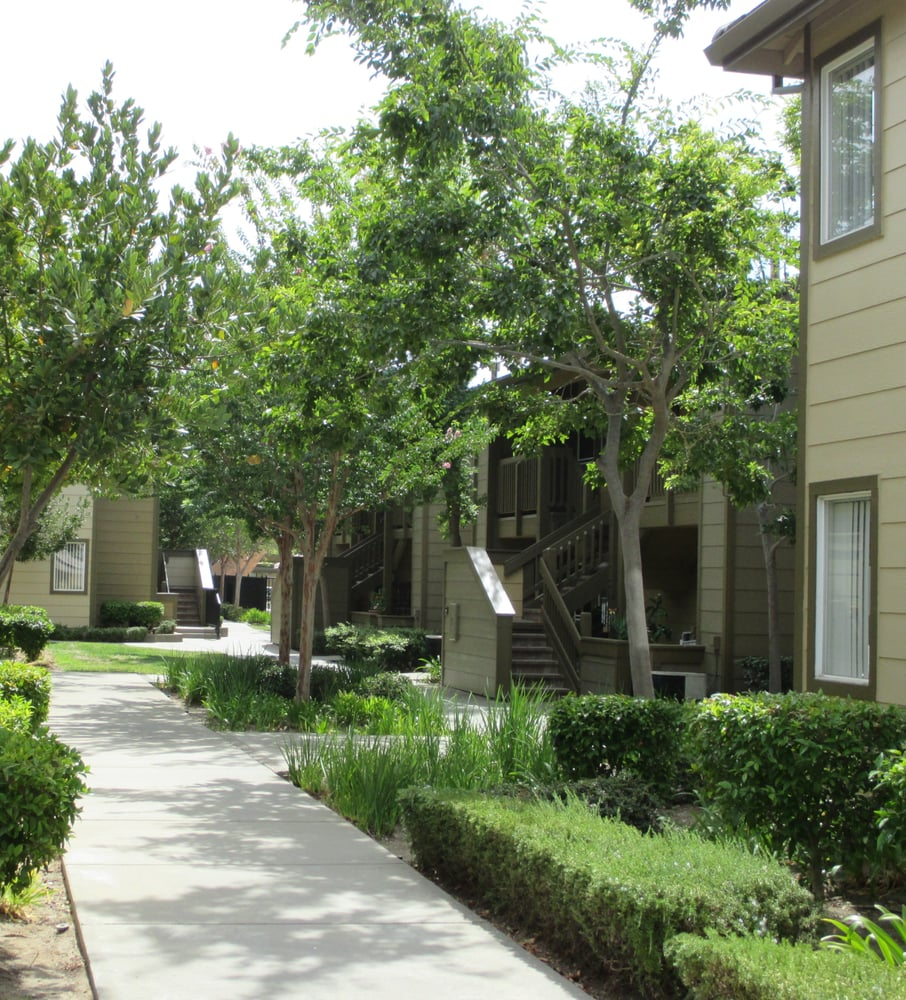 Senior Apartments: Take A Walk In A Gated Community With Lush Landscape.