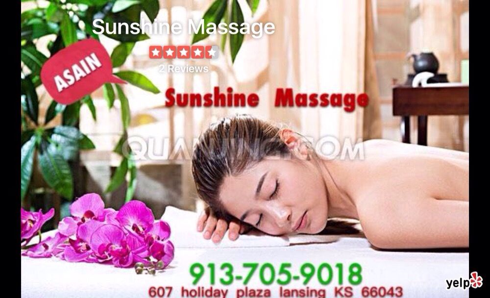 Sunshine Massage: 607 Holiday Plz, Lansing, KS