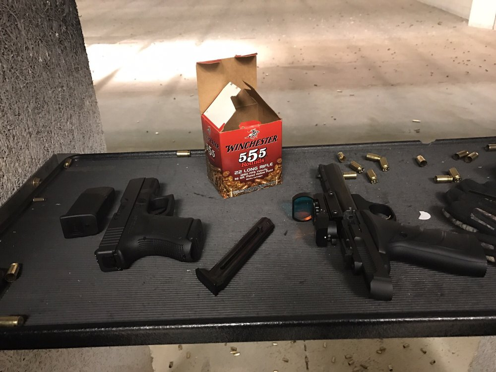 Sometimes You Run Out Of The House To Go To The Range And Can Only