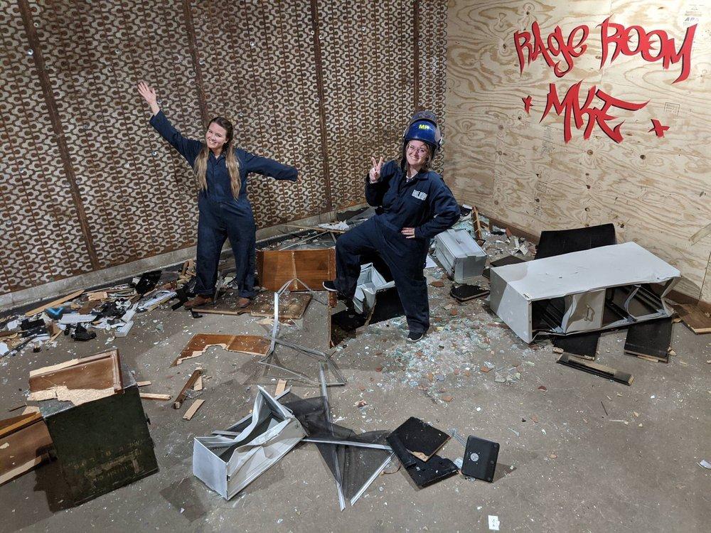 Rage Room MKE: 12733 W Arden Pl Rear, Butler, WI
