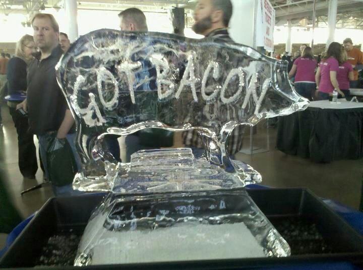 Blue Ribbon Bacon Festival: 200 Walnut, Des Moines, IA