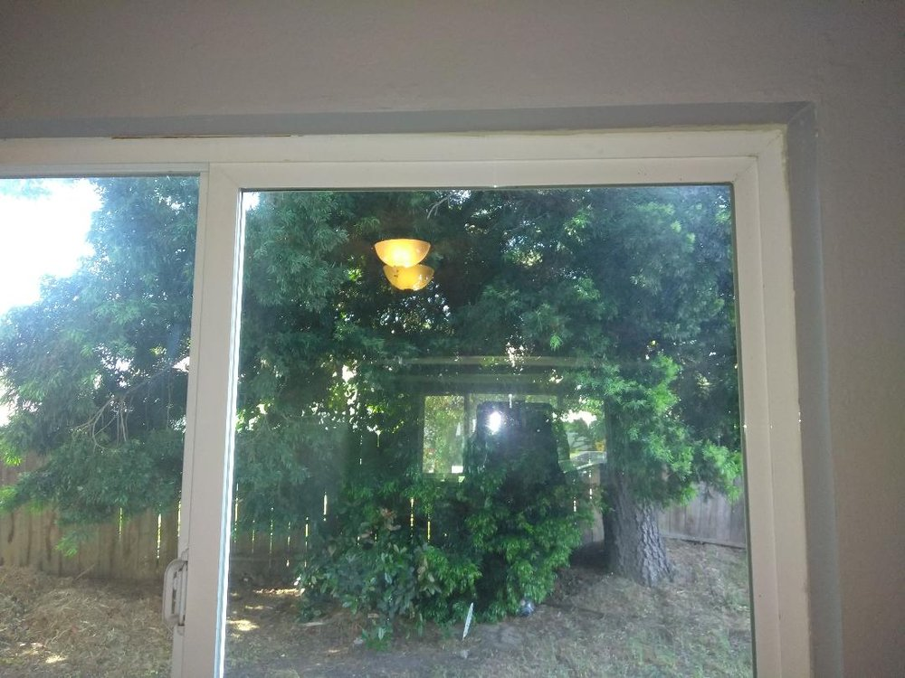 Dining Room Window Before Wall Paint And Casing Yelp