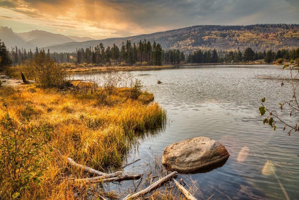 Sprague Lake: Estes Park, CO