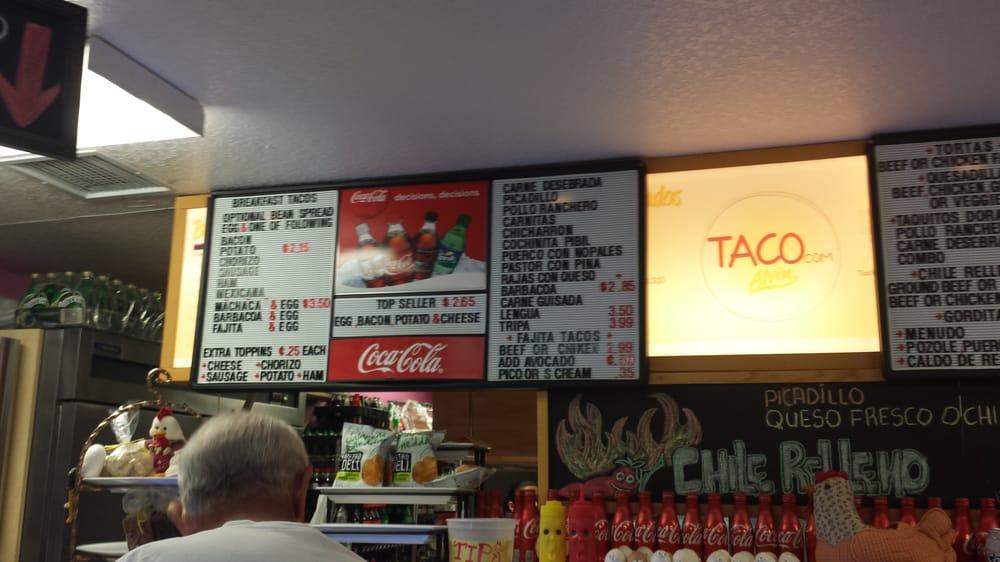 Taco: 1101 McCormick St, Alvin, TX